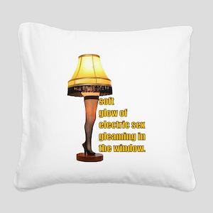 Electric Sex Square Canvas Pillow