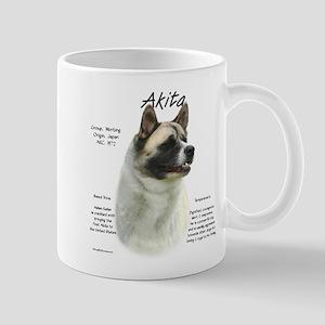 Akita (pinto) 11 oz Ceramic Mug