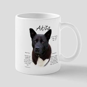 Akita (black) 11 oz Ceramic Mug