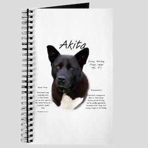 Akita (black) Journal