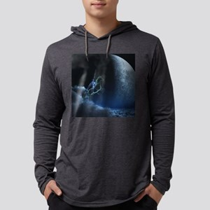 Knight in ghostly armor Mens Hooded Shirt