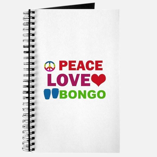 Peace Love Bongo Journal