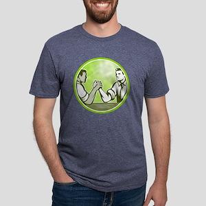 Businessman Office Worker A Mens Tri-blend T-Shirt