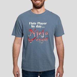 flute_ninja_dark Mens Comfort Colors Shirt