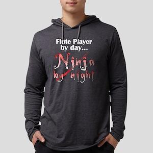 flute_ninja_dark Mens Hooded Shirt