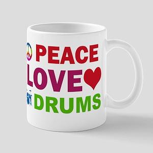 Peace Love Drums Mug