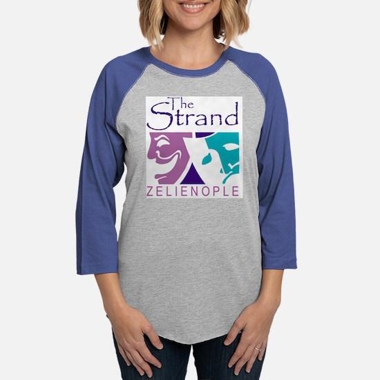 Strand Logo Zelie Only.png Womens Baseball Tee
