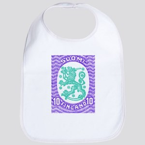 1917 Finland Coat of Arms Postage Stamp Bib