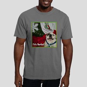 feliz navidadblgreen Mens Comfort Colors Shirt