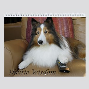 Sheltie Wisdom Wall Calendar