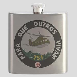 Forca Aérea Portuguesa Esquadra 751 Pumas Flask