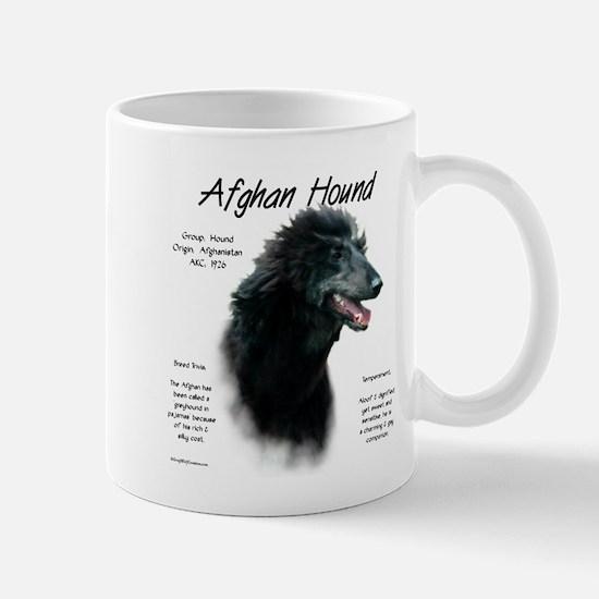 Afghan Hound (black) Mug
