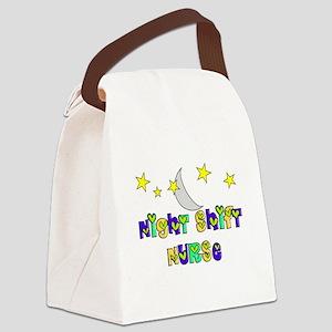 Night Shift Nurse 3 Canvas Lunch Bag