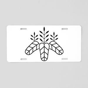 Taiko paulownia Aluminum License Plate