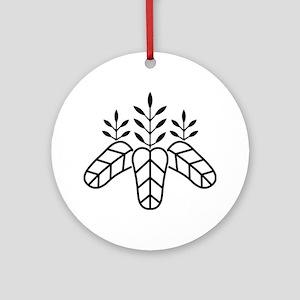 Taiko paulownia Ornament (Round)