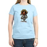 Samantabhadra&Snake Women's Light T-Shirt