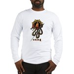 Samantabhadra&Snake Long Sleeve T-Shirt