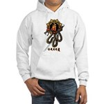 Samantabhadra&Snake Hooded Sweatshirt