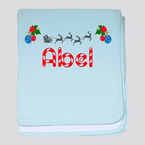 Abel, Christmas baby blanket