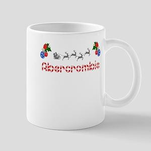 Abercrombie, Christmas Mug
