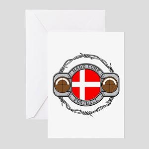 Denmark Football Greeting Cards (Pk of 10)