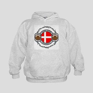 Denmark Football Kids Hoodie
