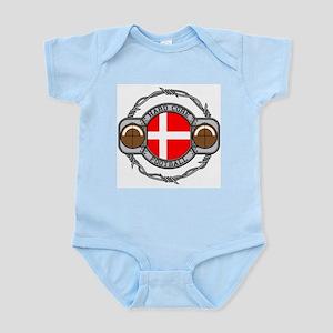 Denmark Football Infant Bodysuit