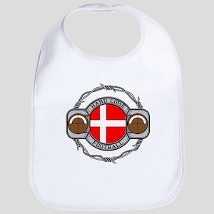 Denmark Football Bib
