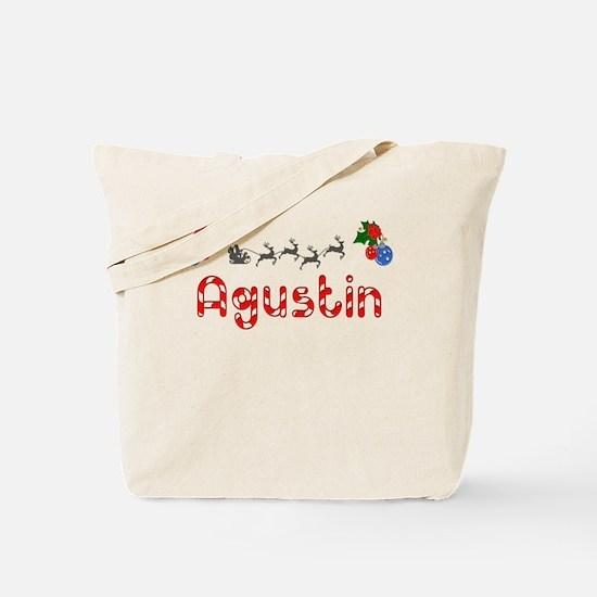 Agustin, Christmas Tote Bag