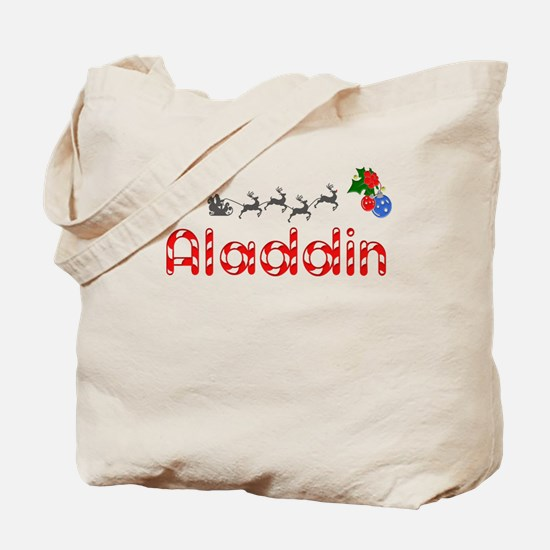 Aladdin, Christmas Tote Bag