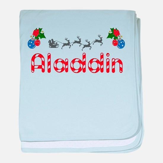 Aladdin, Christmas baby blanket