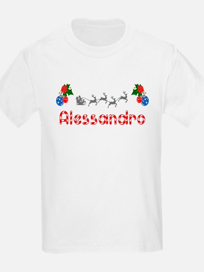 Alessandro, Christmas T-Shirt