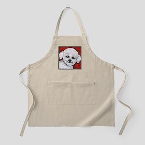 Bichon Frise Poodle BBQ Apron