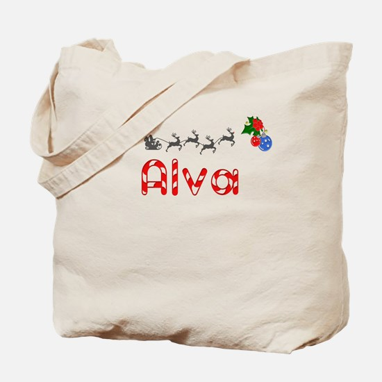 Alva, Christmas Tote Bag