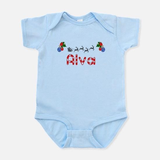 Alva, Christmas Infant Bodysuit