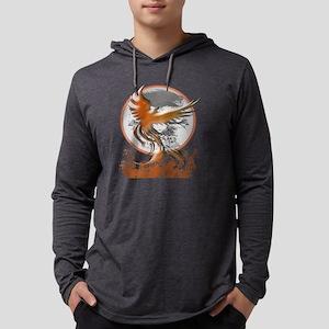 Phoenix Rising Mens Hooded Shirt
