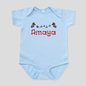 Amaya, Christmas Infant Bodysuit