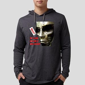 bad_sector_blk Mens Hooded Shirt