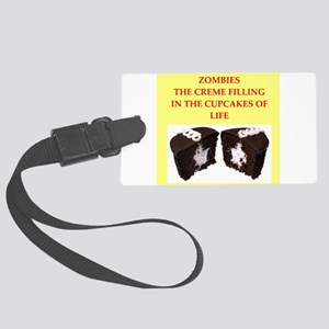 zombies Large Luggage Tag