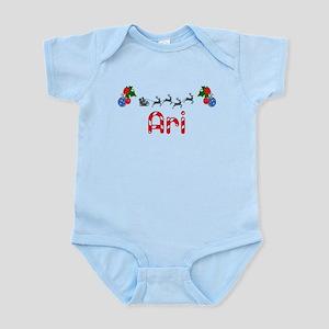 Ari, Christmas Infant Bodysuit