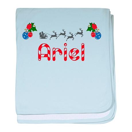Ariel, Christmas baby blanket
