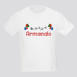 Armando, Christmas Kids Light T-Shirt