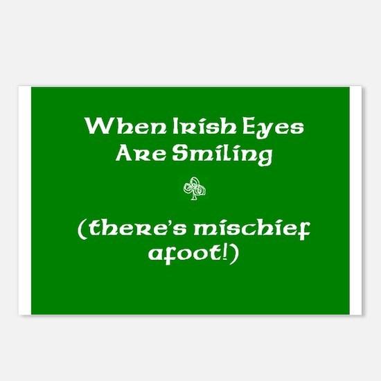 Irisheyescafe.jpg Postcards (Package of 8)