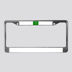 Irisheyescafe License Plate Frame