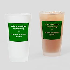 Irisheyescafe Drinking Glass