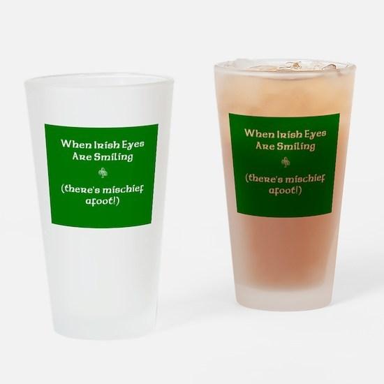 Irisheyescafe.jpg Drinking Glass