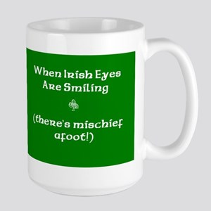 Irisheyescafe Large Mug
