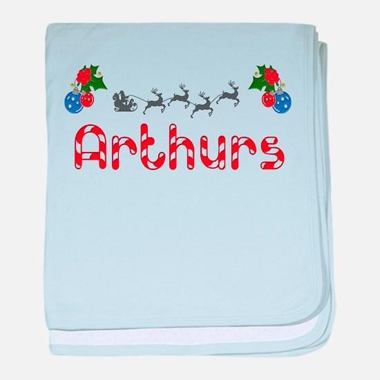 Arthurs, Christmas baby blanket