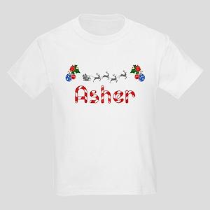 Asher, Christmas Kids Light T-Shirt