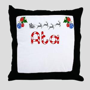 Ata, Christmas Throw Pillow
